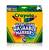 Crayola Ultra-Clean Color Max Broad Line Washable...