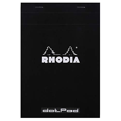 Rhodia 16559C DotPad Block (DIN A5, Dot Grid, 14,8 x 21 cm, 80 Blatt) 1 Stück...