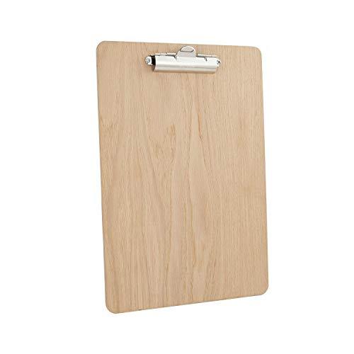 Chalkboards UK Klemmbrett, Holz, Holz, Natur, A4 (33.6 x 24 x 1.60cm)