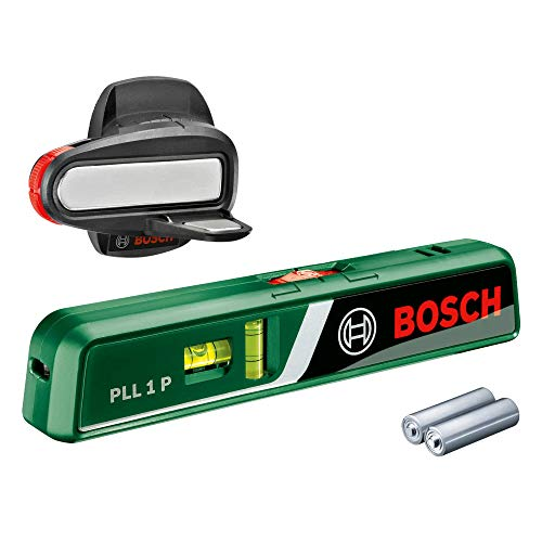 Bosch Laser-Wasserwaage PLL 1 P (Arbeitsbereich Linienlaser 5 m, Arbeitsbereich...