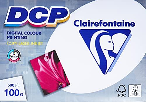 Clairefontaine 1821 DCP Druckerpapier ( 500 Blatt in DIN A4 mit 100...