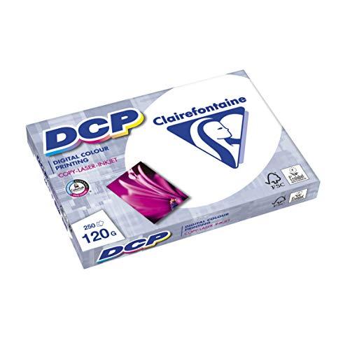 Clairefontaine 1844C DCP Druckerpapier (250 Blatt in DIN A4 mit 120...