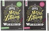 Der große Handlettering Workshop: 3 in 1 Mappe = 1 Anleitungsbuch + 1...