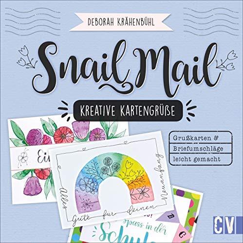 Snail Mail – Kreative Kartengrüße. Einladungen, Grußkarten, Briefumschläge...