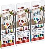 edding 4200 Porzellan-Pinselstift (auch für Glas und Keramik) [ Alle 3...