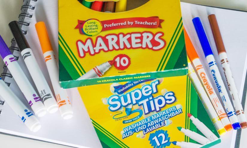 Crayola Marker – Der Lettering Geheimtipp?!