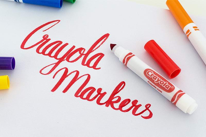 Crayola Marker Beispiel