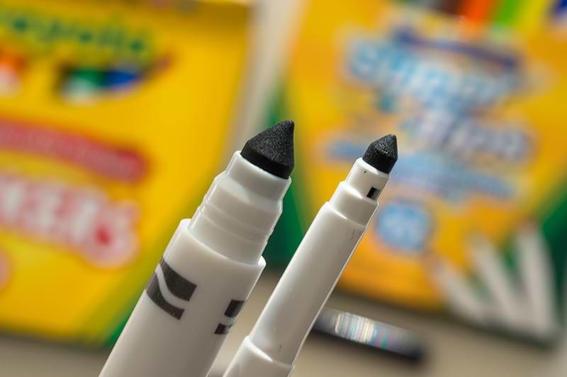 Crayola Marker Vergleich