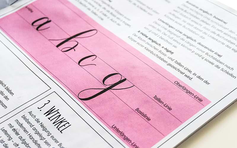 Creative Lettering Typografie Grundlagen