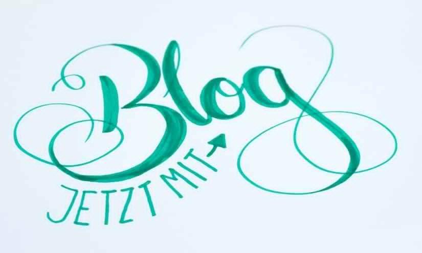 Jetzt auch mit Blog