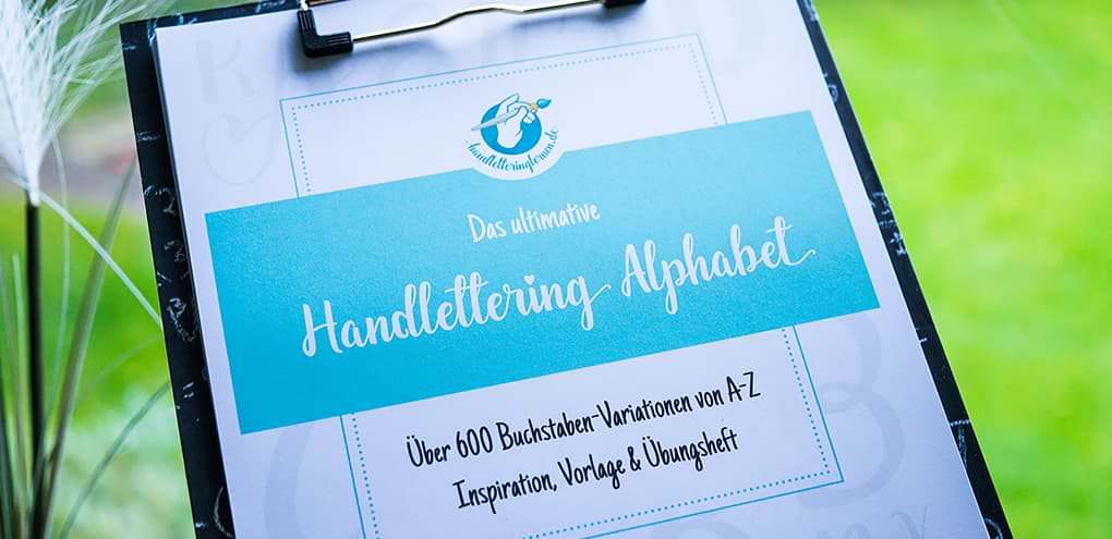 Das ultimative Handlettering Alphabet