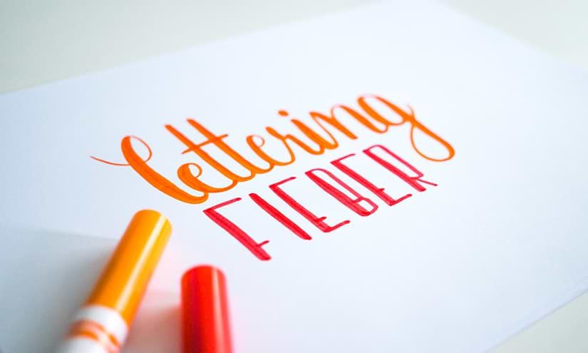 Lettering Fieber