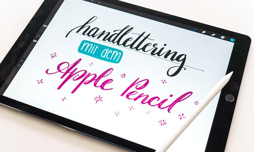 Handlettering iPad und ApplePencil