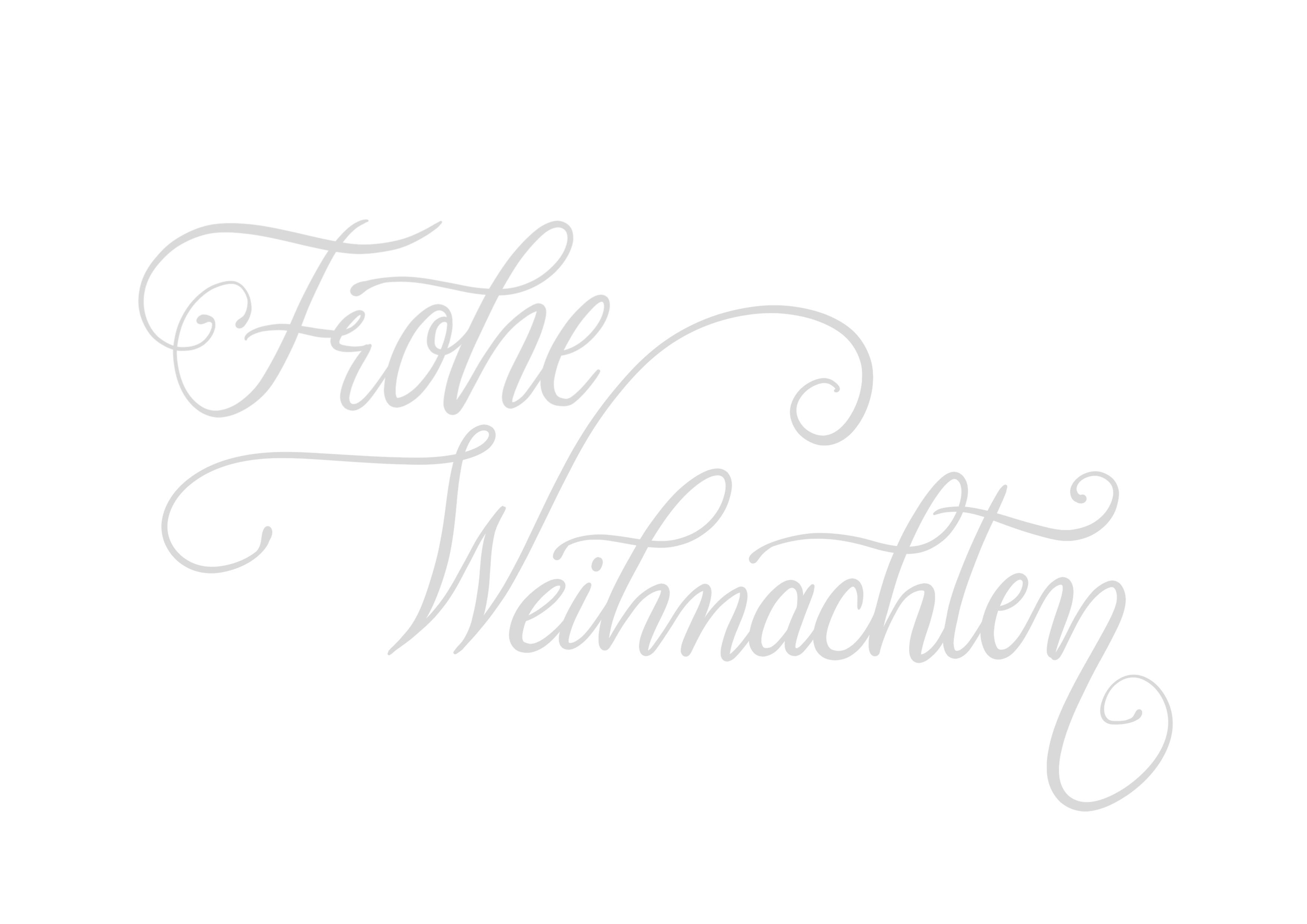 Handlettering & Weihnachten: Grüße, Schriftarten, Vorlagen und mehr!