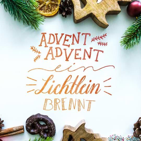 Weihnachtsgrüße Schreiben.Handlettering Weihnachten Grüße Schriftarten Vorlagen Und Mehr