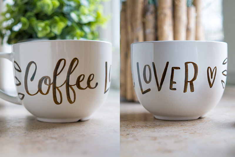 Coffee Lover auf Tasse