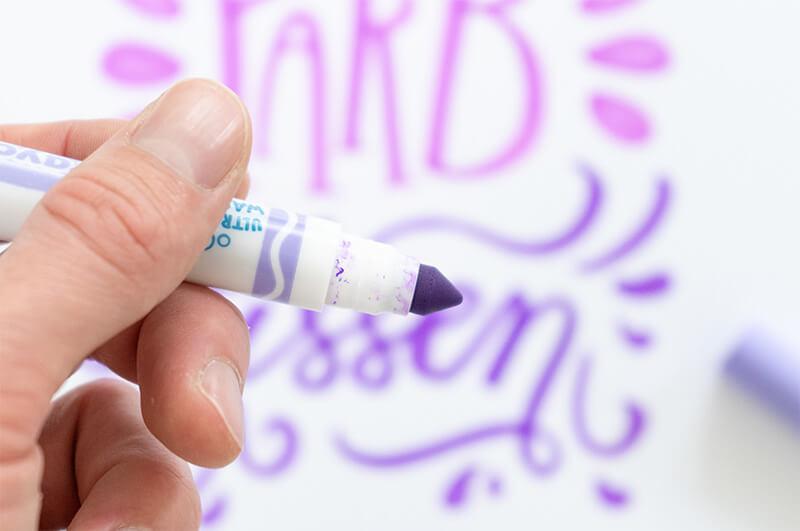 Farbkissen Crayola Marker