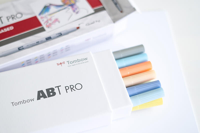 Tombow ABT Pro Pastell Farben