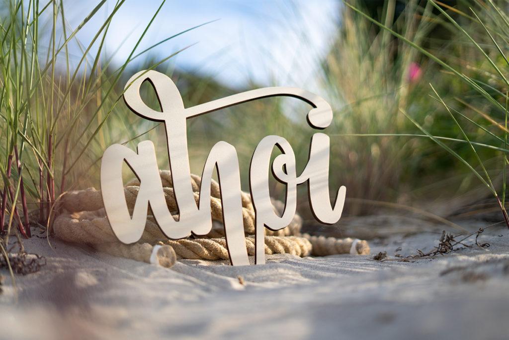 Ahoi im Sand
