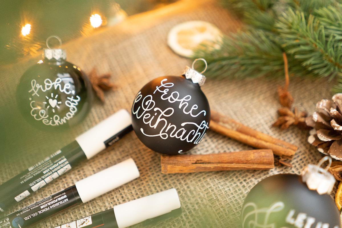 Weihnachtskugel - Frohe Weihnacht