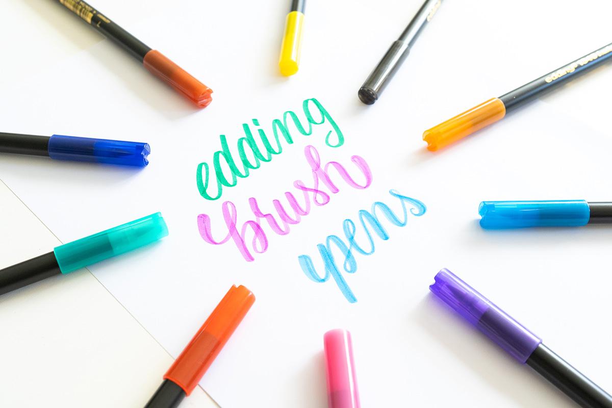 Edding Brush Pens