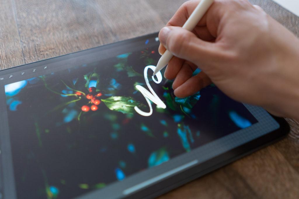 iPad Folie fühlt sich an wie Papier