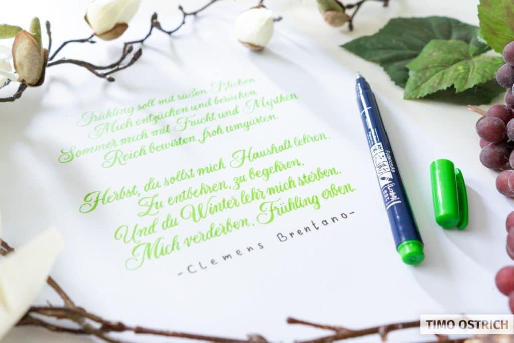Gedicht mit Fudenosuke Hart