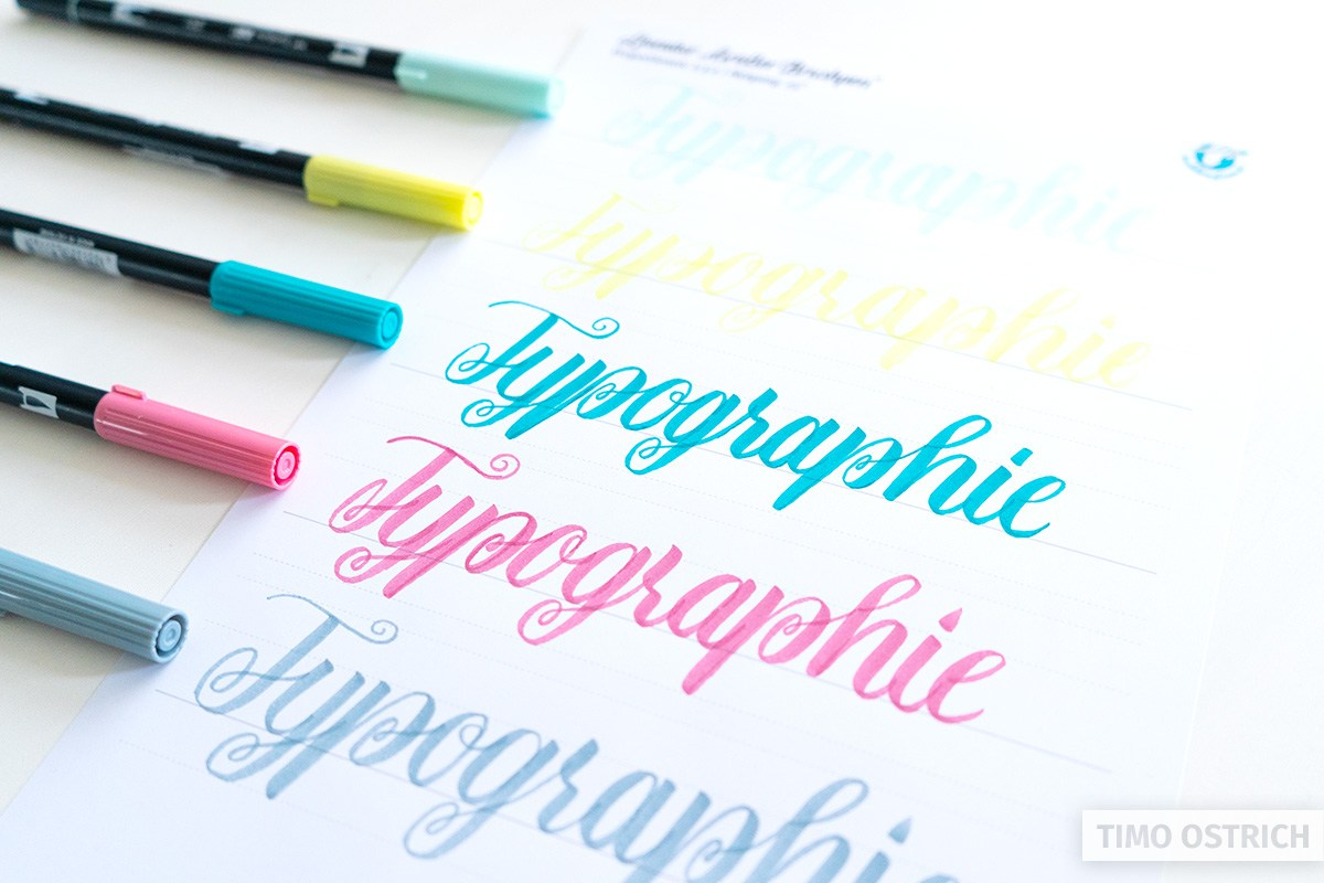 Handlettering Typographie