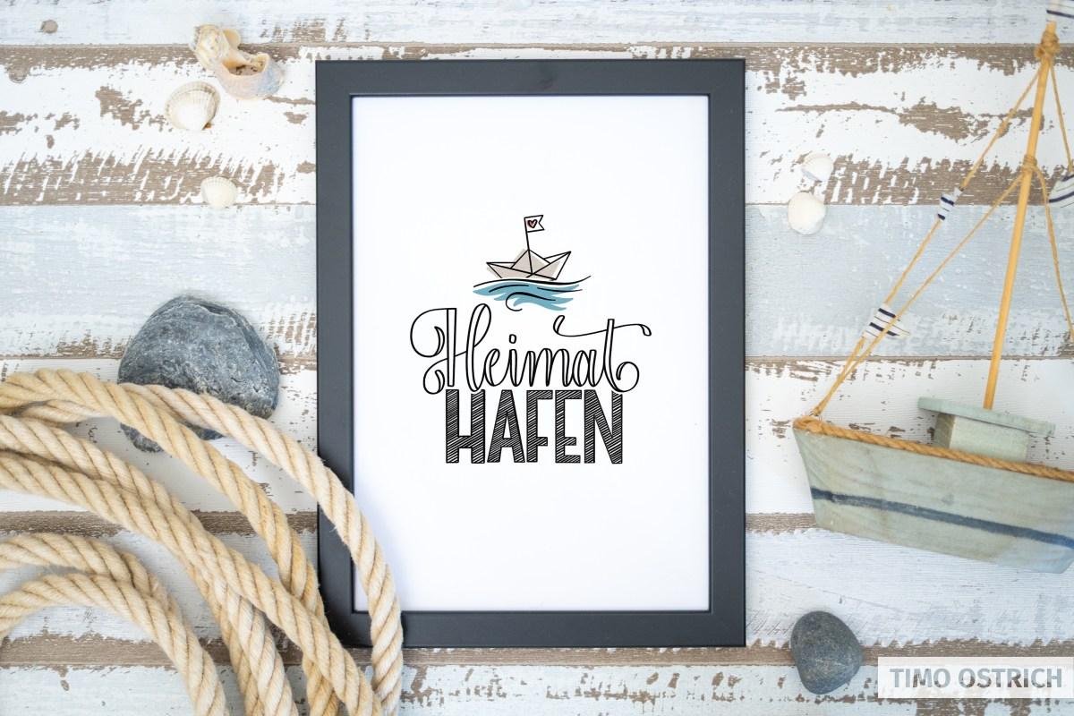 Heimathafen Handlettering