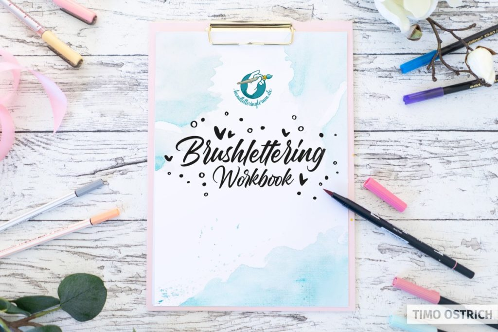 Brushlettering Workbook