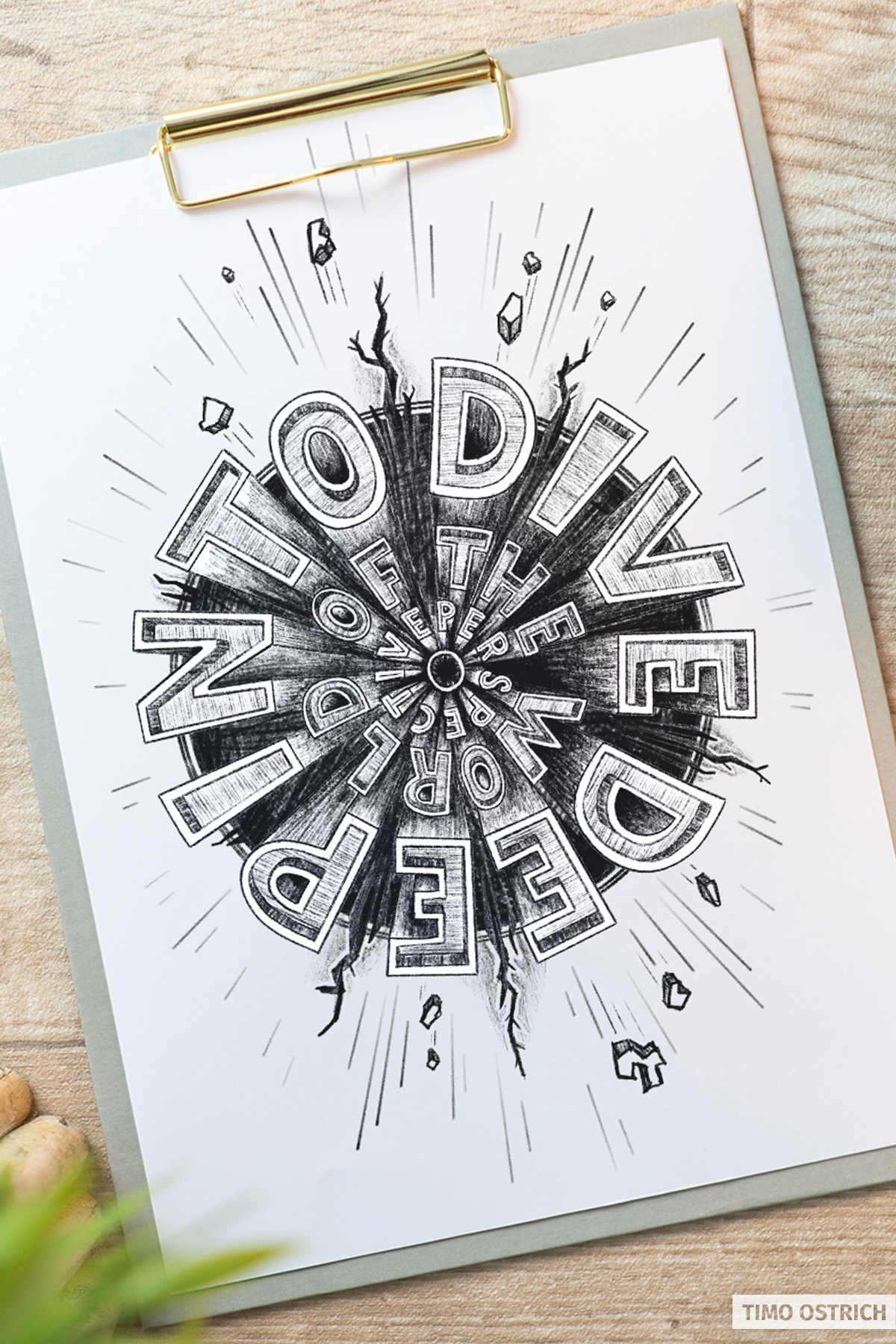 Lettering - Dive deep into the world of perspective