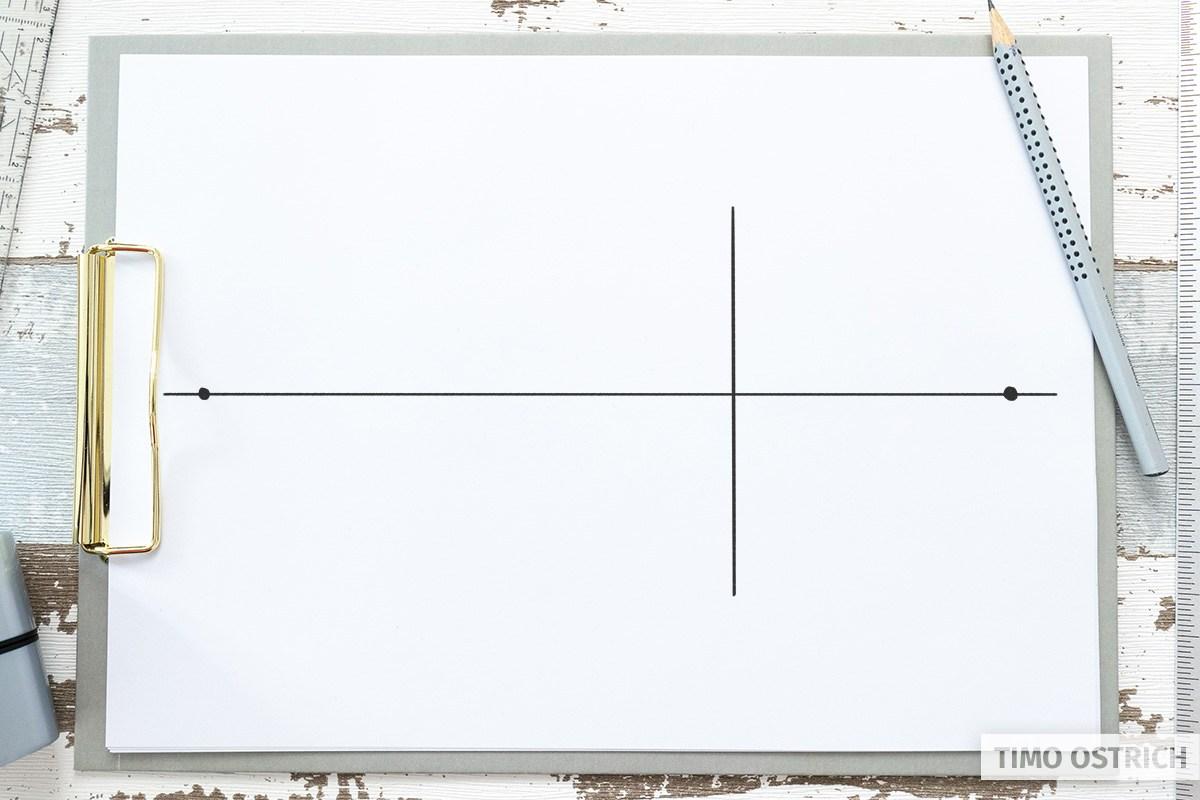 Vertikale Linie