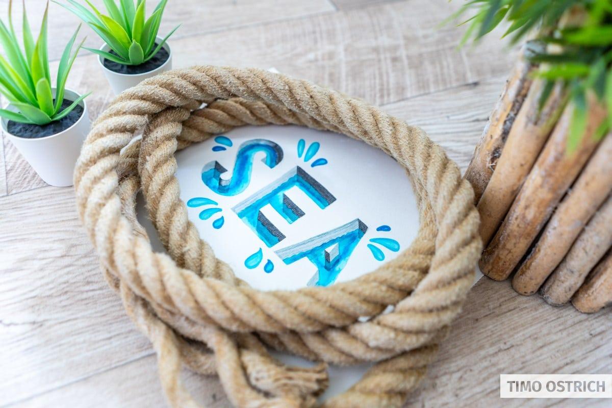 SEA 3D Handlettering