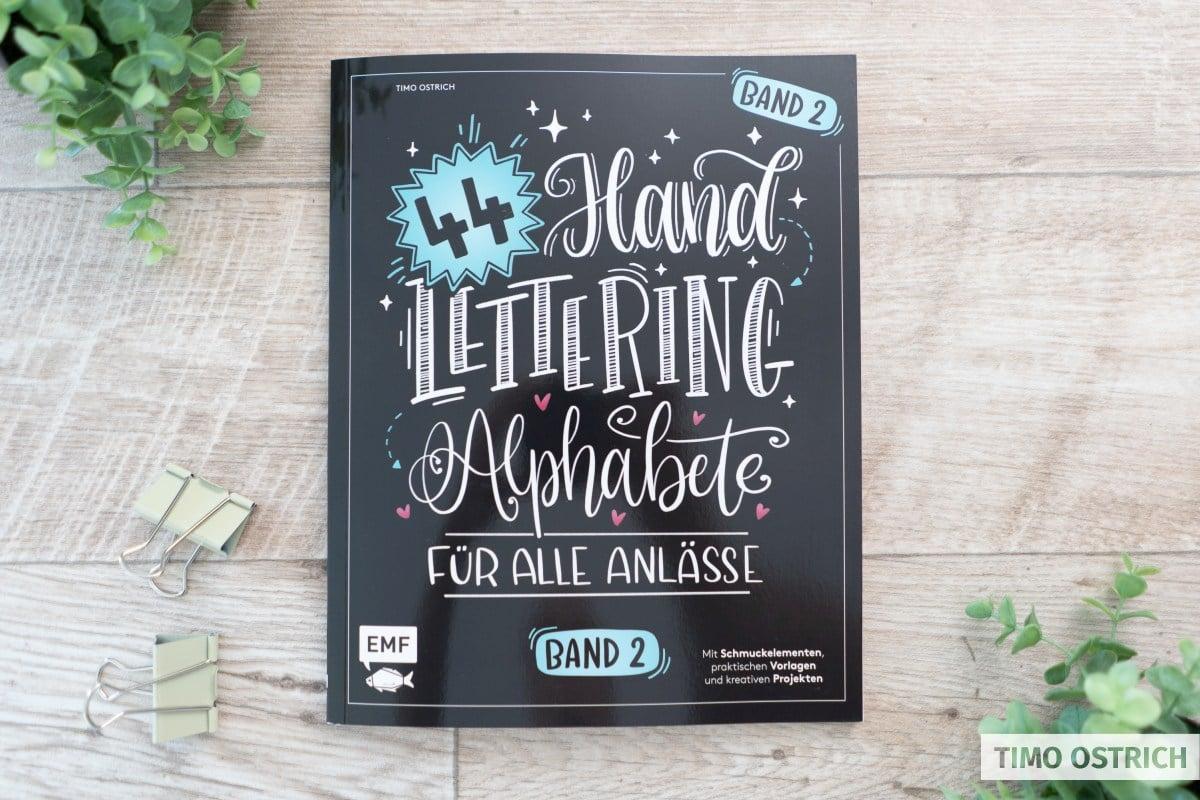 44 Handlettering Alphabete Buch