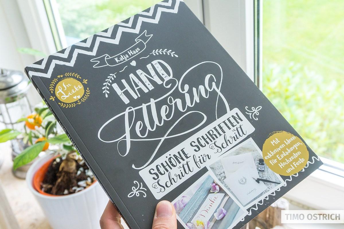 Handlettering Buch von Katja Haas