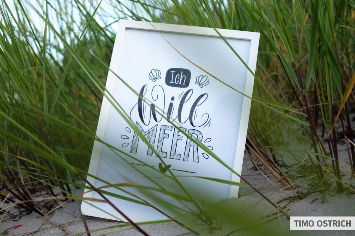 Handlettering Karten