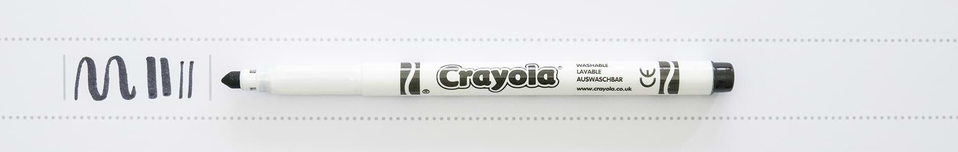 Crayola Supertips schwarz