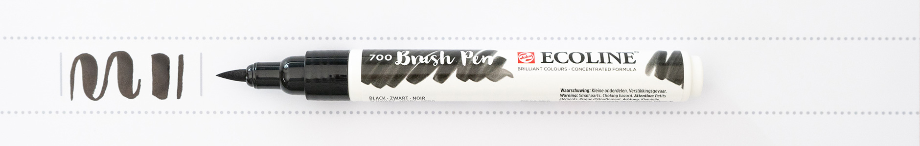 ECOLINE 700 Brush Pen schwarz