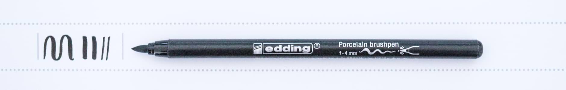 Edding Porzellan Stift schwarz
