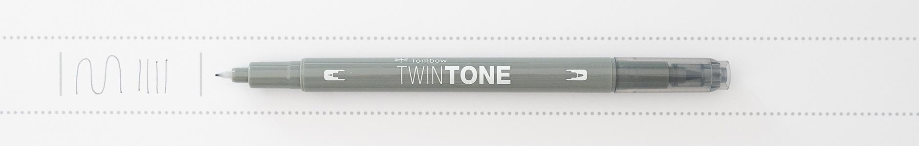 Tombow TwinTone Filz grau
